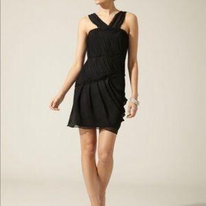 Vera Wang lavender label black halter dress